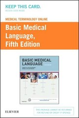 Basic Medical Language Medical Terminology Online Access Code | Myrna LaFleur Brooks; Danielle LaFleur Brooks |