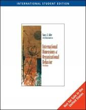 International Dimensions of Organizational Behavior, Interna