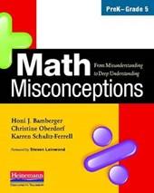 Math Misconceptions, PreK-Grade
