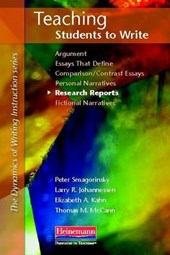 Teaching Students to Write Research Reports