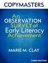 Copymasters for an Observation Survey of Early Literacy Achievement