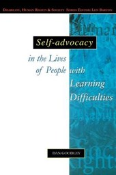 Self-Advocacy In The Lives Of People With Learning Difficult | Dan Goodley |
