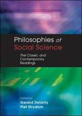 PHILOSOPHIES OF SOCIAL SCIENCE | Gerard Delanty |