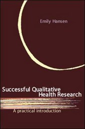 Successful Qualitative Health Research | Emily Hansen |