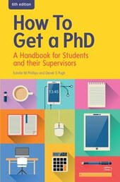 How to get a PhD | Estelle M. Phillips |