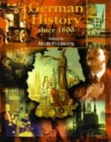 German History Since 1800 | Mary Fulbrook ; John Breuilly |