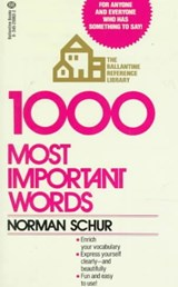 1,000 Most Important Words | Norman Schur |