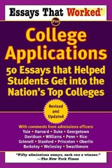 Essays That Worked for College Applications | Curry, Boykin ; Kasbar, Brian |