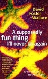 Supposedly fun thing i'll never do again | David Foster Wallace |