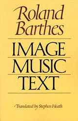 Image, Music, Text | Roland Barthes |