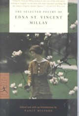 Selected poetry of edna st. vincent millay | Edna St. Vincent Millay |