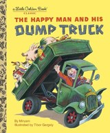 Golden book Happy man and his dump truck | Golden Books Publishing Company |