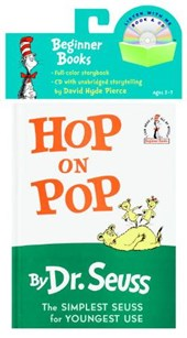 Hop on Pop Book & CD [With CD] | Dr Seuss |