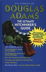 Ultimate hitchhiker's guide to the galaxy | douglas adams |