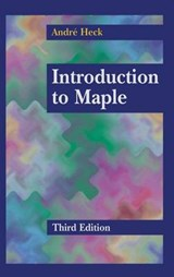 Introduction to Maple | André Heck |