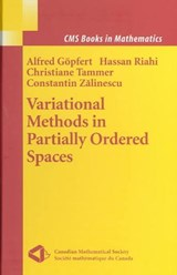 Variational Methods in Partially Ordered Spaces | auteur onbekend |