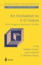 An Invitation to 3-D Vision |  |