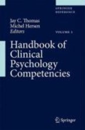 Handbook of Clinical Psychology Competencies, Volume