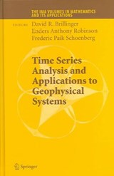 Time Series Analysis and Applications to Geophysical Systems | auteur onbekend |