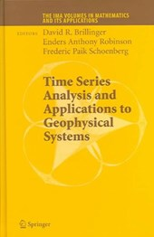 Time Series Analysis and Applications to Geophysical Systems |  |