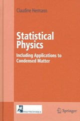 Statistical Physics | Claudine Hermann |