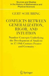 Conflicts Between Generalization, Rigor and Intuition