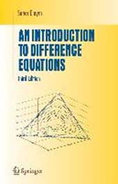 An Introduction to Difference Equations | Saber N. Elaydi |