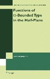 Functions of a-Bounded Type in the Half-Plane
