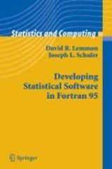 Developing Statistical Software in Fortran | David R. Lemmon |