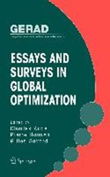 Essays and Surveys in Global Optimization | auteur onbekend |