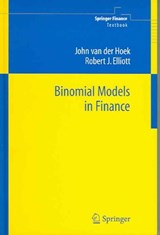 Binomial Models in Finance | John van der Hoek |