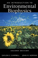 An Introduction to Environmental Biophysics | Gaylon S. Campbell |