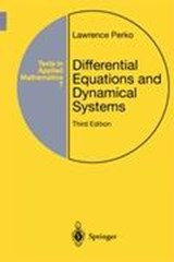 Differential Equations and Dynamical Systems | Lawrence Perko |