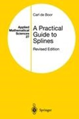 A Practical Guide to Splines | Carl De Boor |