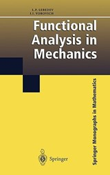 Functional Analysis in Mechanics | L. P. Lebedev |