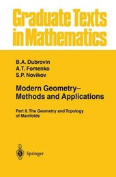 Modern Geometry- Methods and Applications