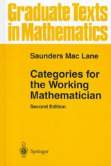 Categories for the Working Mathematician | Saunders Mac Lane |