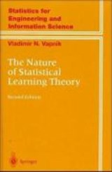 The Nature of Statistical Learning Theory | Vladimir Vapnik |