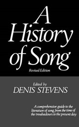 A History of Song | D Stevens |