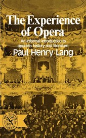 The Experience of Opera | Ph Lang |