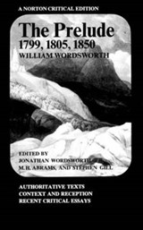Prelude 1799, 1805, 1850 (NCE) (Paper) | William Wordsworth |