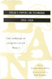 The Seminar of Jacques Lacan Book I