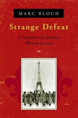 Strange Defeat (Paper) | Marc Bloch |