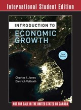 Introduction to Economic Growth 3e ISE | Charles I. Jones |