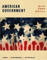 American Government - Power and Purpose | TJ. Lowi |
