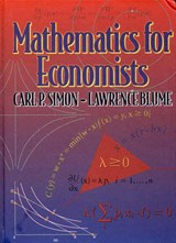 Mathematics for Economists | Carl P. Simon |