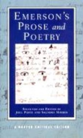 Emerson's Poetry & Prose (NCE)