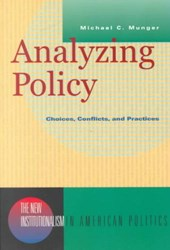 Analysing Policy - Choices, Conflicts, & Practices