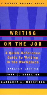Writing on the Job Upd  (Spiral) | John Brereton |