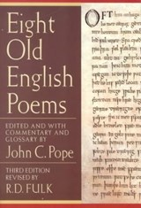 Eight Old English Poems | auteur onbekend |